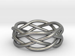 Dreamweaver Ring (Size 10.5) in Natural Silver