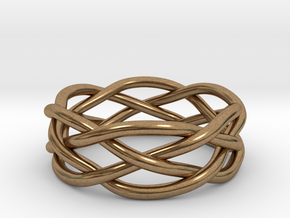 Dreamweaver Ring (Size 11) in Natural Brass