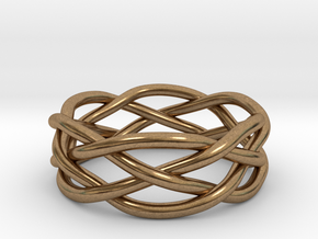 Dreamweaver Ring (Size 12) in Natural Brass