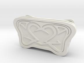 Altair Bracer armor plates in White Natural Versatile Plastic