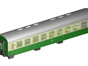 Rekowagen Bghw (Z,1:220) in Smooth Fine Detail Plastic