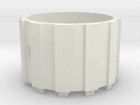Watertoren 1:220, Tussenring in White Natural Versatile Plastic