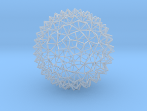 Amazing Mesh Sphere in Smooth Fine Detail Plastic