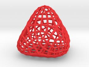 Pencil Storage Droplet in Red Processed Versatile Plastic