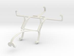 Controller mount for Xbox 360 & Prestigio MultiPho in White Natural Versatile Plastic