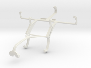 Controller mount for Xbox 360 & Samsung Galaxy Tre in White Natural Versatile Plastic