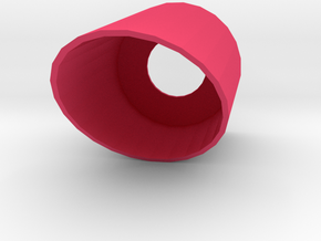 30mm Slanted CRD in Pink Strong & Flexible Polished