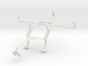 Controller mount for Xbox 360 & Xolo Q1000 in White Natural Versatile Plastic