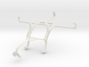 Controller mount for Xbox 360 & Yezz Andy A5 in White Natural Versatile Plastic
