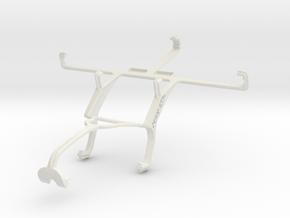 Controller mount for Xbox 360 & ZTE Nubia Z5S in White Natural Versatile Plastic