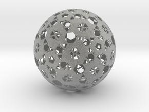 Hexa Mesh Sphere in Metallic Plastic
