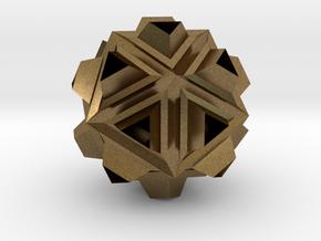 Icosa Dill - 2.4cm in Natural Bronze