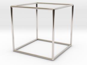 Cube Bracelet - Small in Platinum