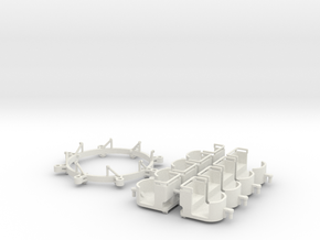 Umbausatz - conversion Swing Mill 1.87 (H0 scale) in White Strong & Flexible