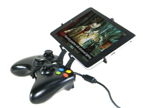 Xbox 360 controller & Huawei MediaPad 7 Youth in Black Strong & Flexible