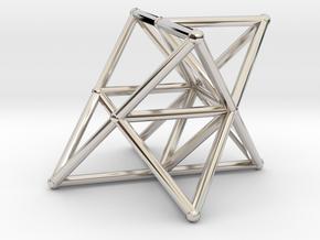 Rod Merkaba Supports OpenBase 4cm in Platinum