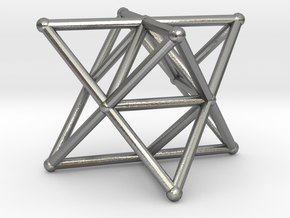 Rod Merkaba Supports OpenBase 3cm in Natural Silver