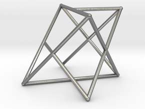 Rod Merkaba OpenBase 2cm in Natural Silver