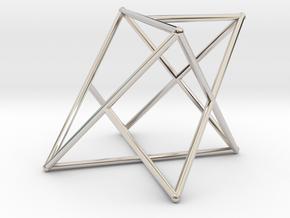Rod Merkaba OpenBase 2cm in Platinum