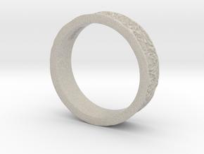 Rose Ring in Natural Sandstone