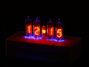 Case for NCV3.1-16 Nixie Tube Clock in White Strong & Flexible