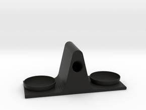 Eyeglass Stand in Black Natural Versatile Plastic