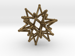 StarCore 2 Layers - 2.6cm in Natural Bronze