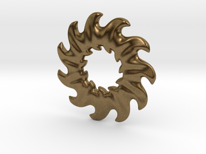 O-waves 11 - 2cm in Natural Bronze