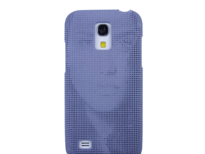 Samsung S4 Mini 3D Printed case - Portrait collect in Pink Strong & Flexible Polished