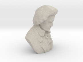 Ludwig Van Beethoven in Natural Sandstone