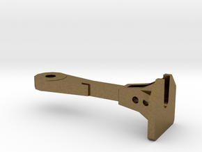 1:64 Nzr Coupler - Square in Natural Bronze
