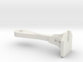 1:64 Nzr Coupler - Square in White Natural Versatile Plastic