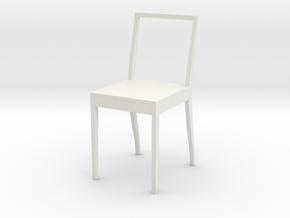Stuhl Zum Esstisch in White Natural Versatile Plastic