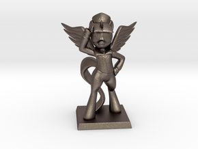 My Little Pony - Twilight CommanderEasyglider 10cm in Polished Bronzed Silver Steel