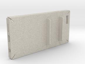 Holding Frisk iPhone6 4.7inch case in Natural Sandstone