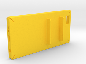 Holding Frisk iPhone6 4.7inch case in Yellow Strong & Flexible Polished