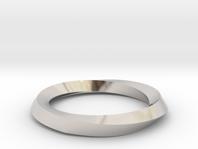 Mobius Wedding Ring-Size 5, multiple sizes listed in Platinum