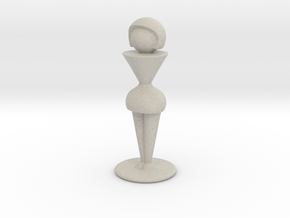 Trophy Wife in Natural Sandstone