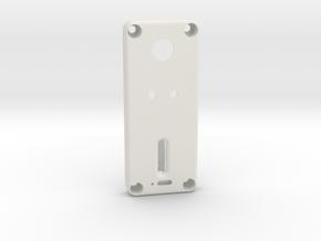 DNA40 1590A Lid V2.0 in White Natural Versatile Plastic