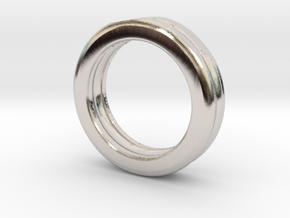 Wave Ring in Platinum