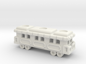 Game Train 1 SS in White Natural Versatile Plastic