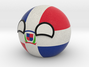 Dominican Republicball in Full Color Sandstone