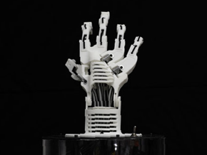 InnerbreedFX Robotic Hand MiProto in White Strong & Flexible