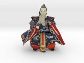 The Japanese Hina Doll-5 in Full Color Sandstone
