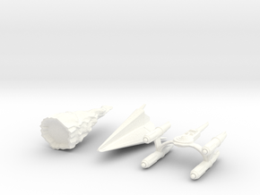 """Star Trek Micro Machines """"LOST SET"""" from The Origi in White Strong & Flexible Polished"""