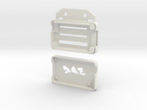3DR Radio Case AIR in White Natural Versatile Plastic
