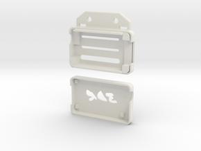 3DR Radio Case AIR in White Natural Versatile Plastic