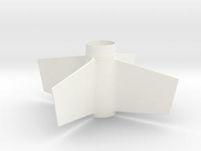 EAC Viper Upscale BT-55 Fin Unit for 24mm motors in White Processed Versatile Plastic