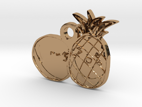 FruitsLove in Polished Brass