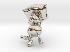 Garfield resting in Platinum